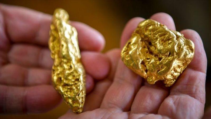 золоті самородкі