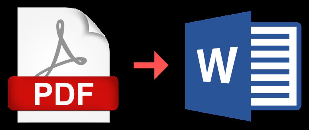 Бесплатный конверте файлов PDF в DOC, DOCX